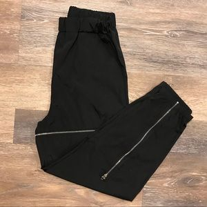 Pants - zipper track pants